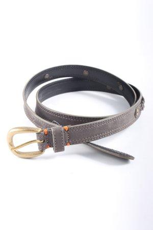 Hugo Boss Leather Belt light grey business style