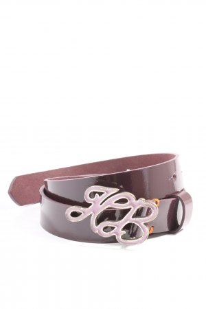 Hugo Boss Leather Belt pink casual look