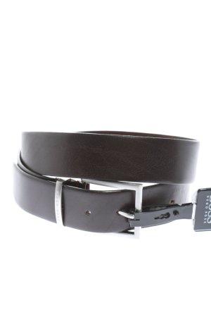 Hugo Boss Leather Belt black business style