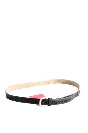 Hugo Boss Leather Belt black casual look