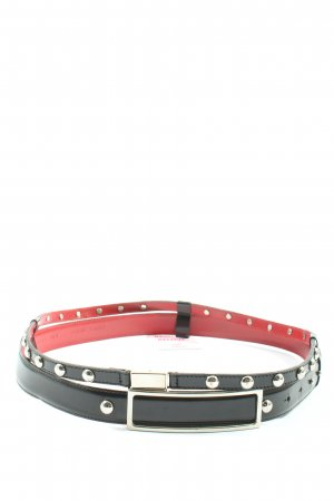 Hugo Boss Leather Belt multicolored casual look