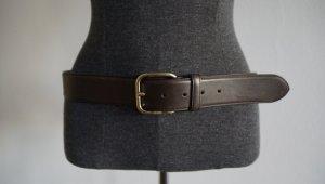 Hugo Boss Leather Belt brown leather