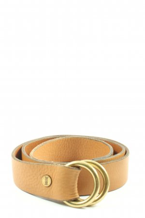 Hugo Boss Faux Leather Belt nude casual look