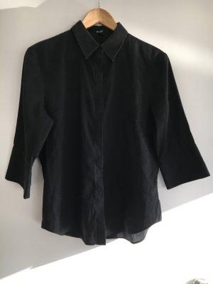 Hugo Boss Linnen blouse zwart Linnen