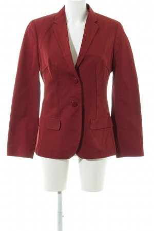 Hugo Boss Long-Blazer rot Casual-Look