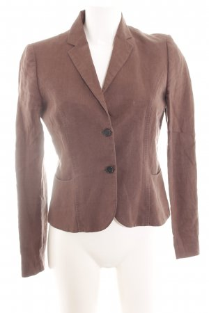 Hugo Boss Long-Blazer braun Casual-Look