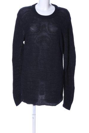 Hugo Boss Long Sweater black casual look