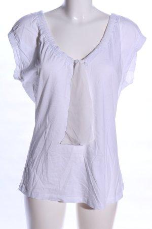 Hugo Boss Lange top wit casual uitstraling