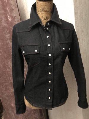 Hugo Boss Jeansowa koszula czarny