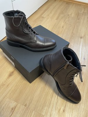 Hugo Boss Botte courte brun