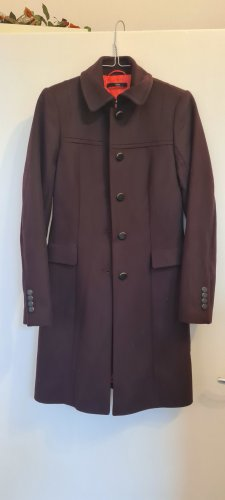 Hugo Boss Winter Coat purple-brown violet