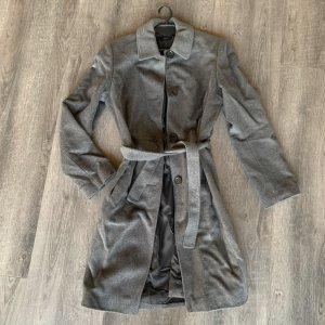 Hugo Boss Fleece jas grijs-zilver