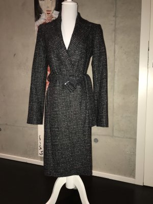 Hugo Boss Wool Coat multicolored wool