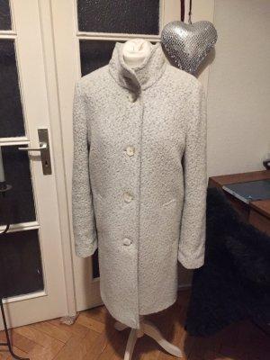 Hugo Boss Wool Coat white-grey wool