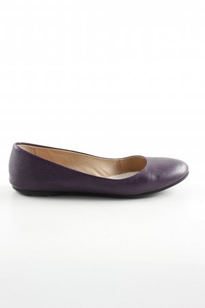 Hugo Boss Mary Jane Ballerinas lila Business-Look