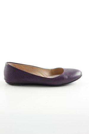 Hugo Boss Mary Jane Ballerinas lilac business style