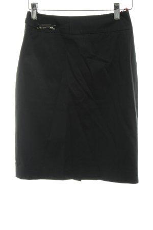 Hugo Boss Midirock schwarz schlichter Stil