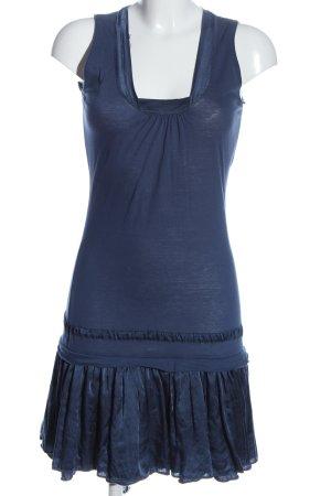Hugo Boss Minikleid blau Casual-Look