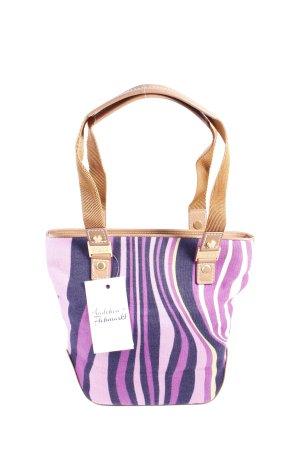 Hugo Boss Mini sac violet-marron clair style simple