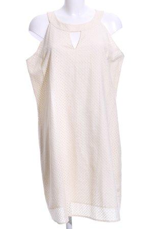 Hugo Boss Vestido de cuello Halter blanco puro look casual