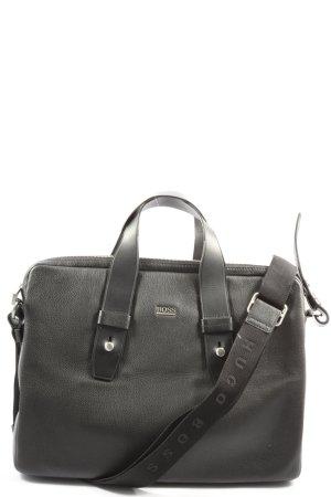 Hugo Boss Notebooktasche schwarz Business-Look