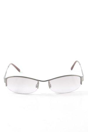 Hugo Boss Ovale zonnebril zilver zakelijke stijl