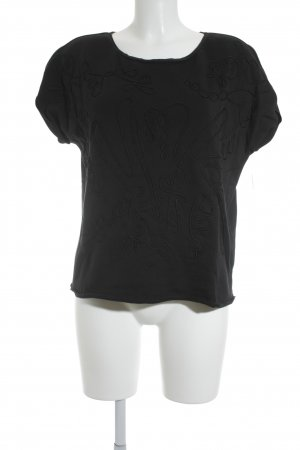 Hugo Boss Koszulka oversize czarny W stylu casual