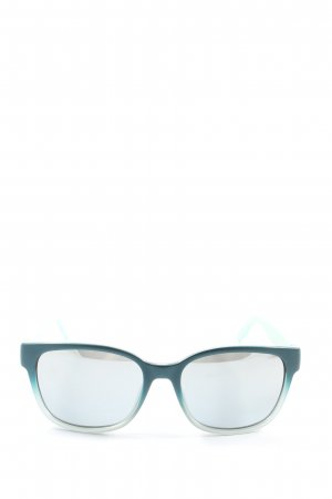 Hugo Boss Gafas panto turquesa-azul degradado de color look casual