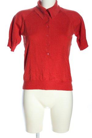 Hugo Boss Polo Shirt red casual look