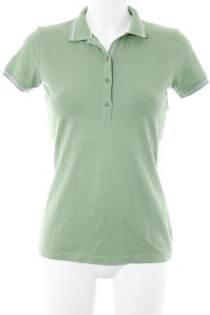 Hugo Boss Polo-Shirt hellgrün sportlicher Stil