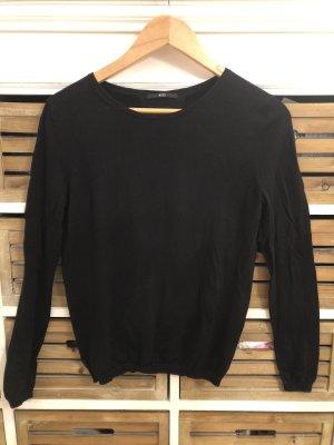 Hugo Boss Wollen trui zwart