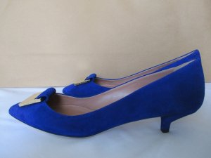 Hugo Boss Pumps blauw Leer