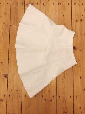 Hugo Boss Flared Skirt white