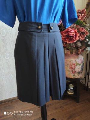 Hugo Boss Jupe à plis noir-bleu foncé
