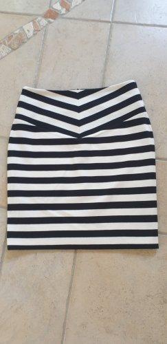 Hugo Boss Stretch Skirt black-natural white