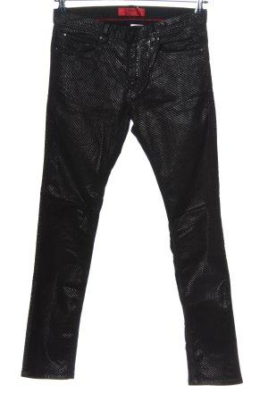 Hugo Boss Röhrenhose schwarz Elegant