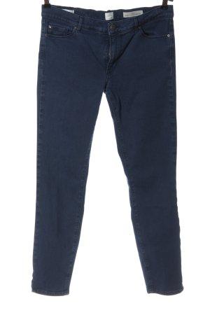 Hugo Boss Röhrenhose blau Casual-Look