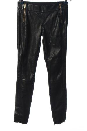 Hugo Boss Pantalon cigarette noir-doré style décontracté