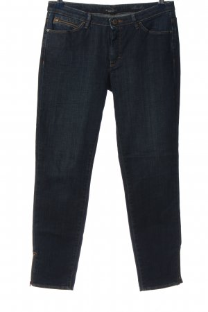 Hugo Boss Röhrenjeans blau Casual-Look