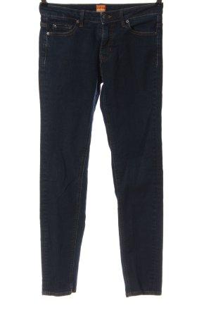 Hugo Boss Jeans cigarette bleu style décontracté