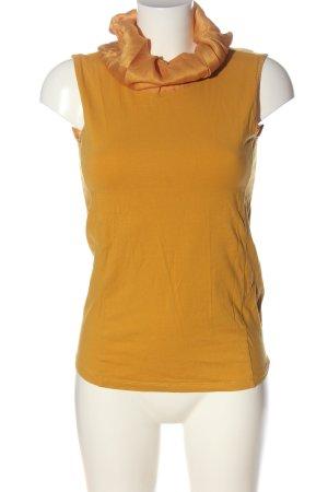 Hugo Boss Neckholder Top light orange casual look