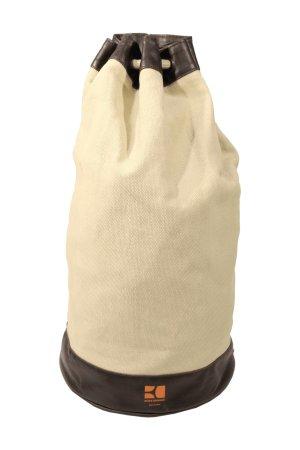 Hugo Boss Mochila para portátiles marrón-negro-marrón arena Algodón