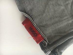 Hugo Boss Bufanda tubo blanco-negro