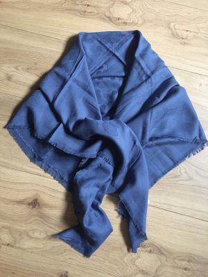Hugo Boss Foulard bleu acier