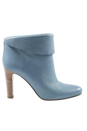 Hugo Boss Schlüpf-Stiefeletten blau Casual-Look