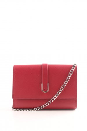 Hugo Boss Shoulder Bag red weave pattern elegant