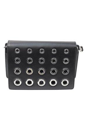 Hugo Boss Schultertasche in Schwarz aus Leder