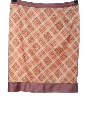 Hugo Boss Silk Skirt check pattern elegant