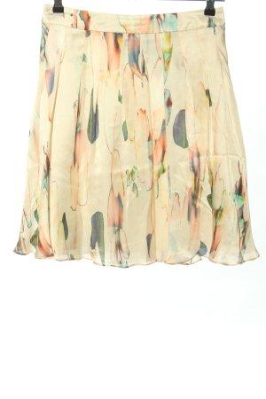 Hugo Boss Silk Skirt allover print casual look