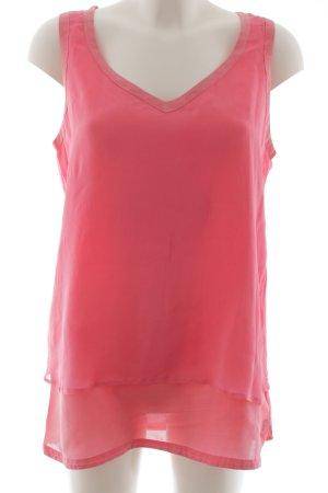 Hugo Boss Seidentop pink Casual-Look